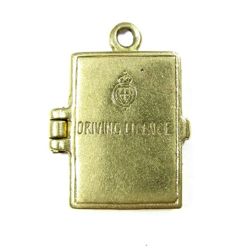 Driving License Charm