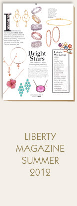Annina-Vogel-Jewellery-Liberty-Magazine-Summer-2012-Palm-Tree-Gold-Charm-Bangle-and-Short-Signature-Gold-Charm-Necklace-Love-and-Luck